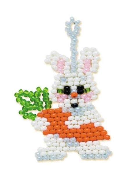 """Набор для бисероплетения """"Заяц с морковкой"""" Б-150 Риолис"""