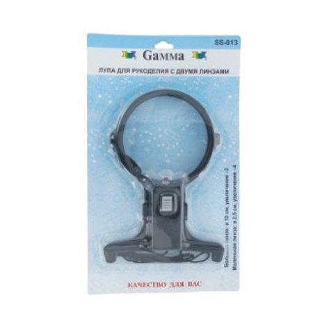 """Gamma"" лупа SS-013 в блистере увеличение х2,х4"