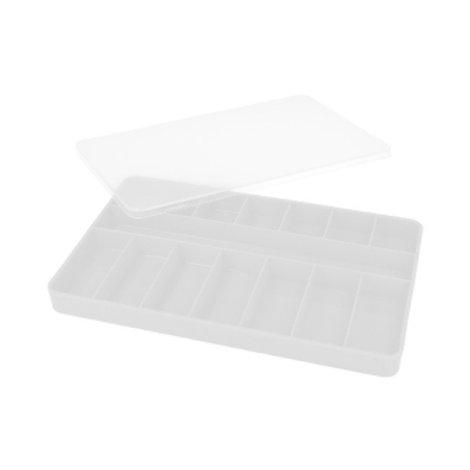 """""""Тривол""""Коробка для мелочей пластик №1. Размер: 230 х 145 х 20 мм"""