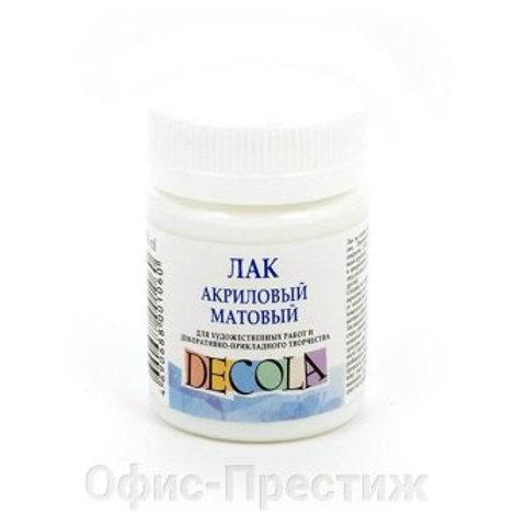 """""""Декола"""" Лак акриловый матовый 50мл"""