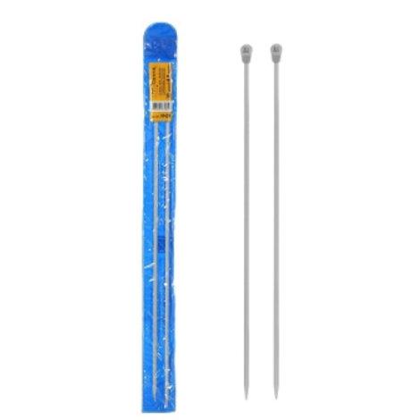 Спицы для вязания (прямые) арт. KN2H, 35 см D 4,5 мм. Гамма