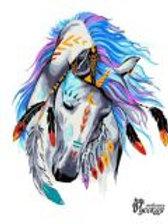 Лошадь POP ART