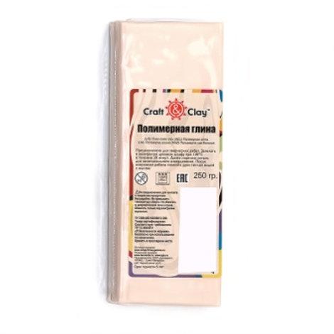 Полимерная глина Craft&Clay арт. ССН 1004  телесный светлый 250г