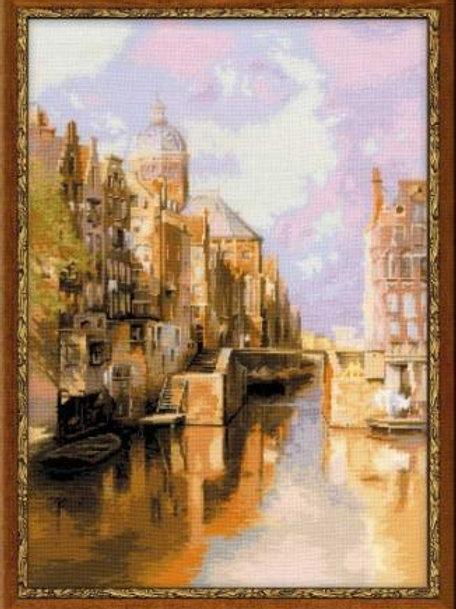 """Вышивка крестом """"Амстердам"""", 1190"""