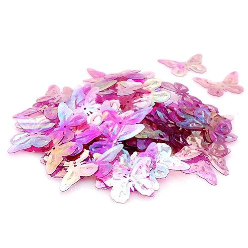 Пайетки ZF-24 цвет: №177 лиловый. ZLATKA