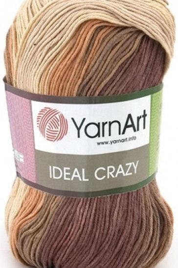 YarnArt ideal crazy  - 4204 - коричневый, бежевый 50г/170м