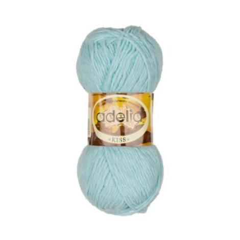 Adelia Kiss-07-голубой, 50г/145м, 100% полиэстр
