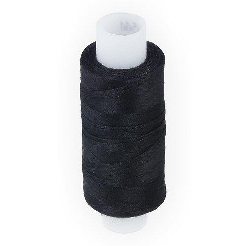 Швейные нитки армированные 35 ЛЛ, чёрные