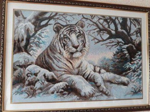 """Вышивка крестом """"Бенгальский тигр"""", 1184"""