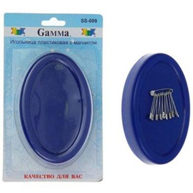 Игольница пластиковая с магнитом SS-008, Gамма