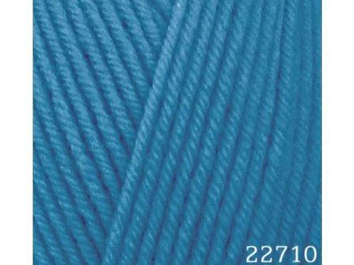 HiMALAYA HAYAL lux wool 227-10 синий 100г/250м