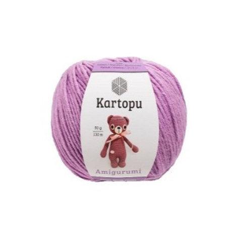 Kartopu Amigurumi-1709-сиреневый 50г/130м 51% акрил 49% хлопок Турция