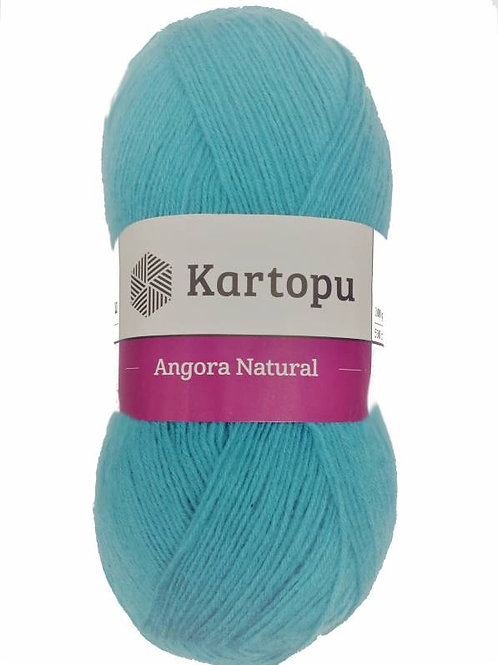 Kartopu Angora Natural-1467-бирюзовый 100г/530м Турция