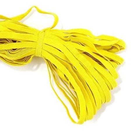 "Лента эластичная (продержка) ширина:8мм, длина:10м, цвет: желтый, ""Гамма"""