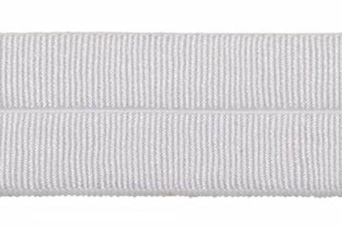 Декоративная резинка GET-153 белый ширина: 14мм Torioni