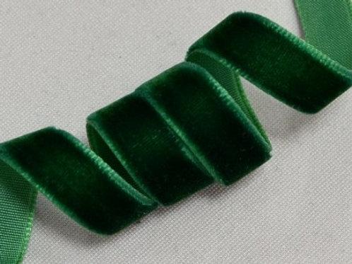 Бархатная лента VR-20 зелёный 20мм BLITZ