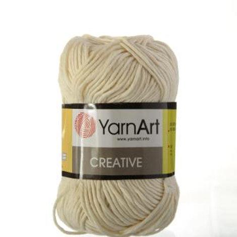 YarnArt creative  - 223 - экрю 50г/85м
