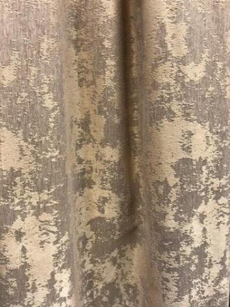 Ткань портьерная двухсторонняя Мрамор софт. Цвет: светло-бежевый высота 2.8 м.