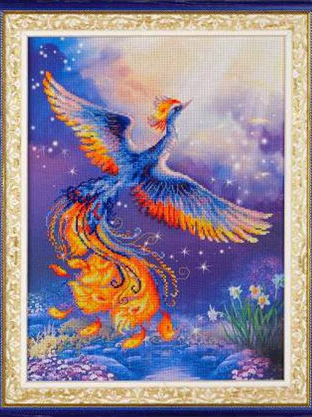"""Вышивка крестом """"Птица счастья"""", 0034 РТ»"""