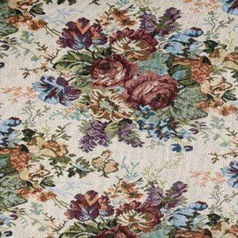Ткань гобеленовая цветами ширина: 150 см