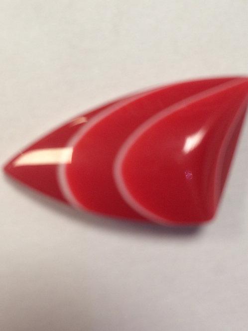 Пуговица Л-21 25 мм красный