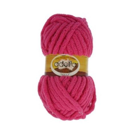 Adelia DOLLY №25 розовый, 100г/40м, 100% полиэстр. Турция