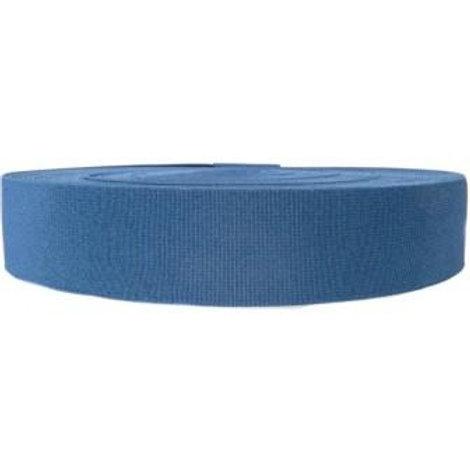 Резинка эластичная (продержка) ширина: 25мм, цвет: синий.