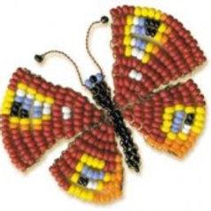 """Набор для плетения из бисера """"Бабочка"""" Б-044 Риолис"""