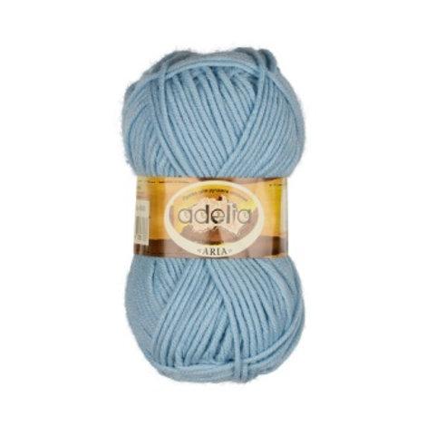 Аdelia Aria-06-голубой, 100г\100м, 100% акрил
