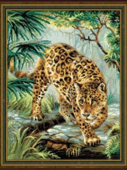 """Вышивка крестом """"Хозяин джунглей"""", 1549"""