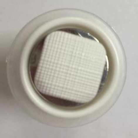 Пуговица EL 0044 мм D 25 мм белый Гамма