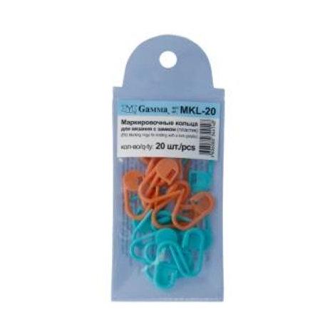 Маркировочные кольца для вязания с замком MKL-20. Гамма