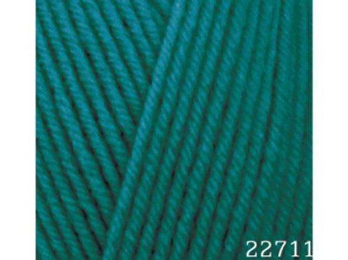 HiMALAYA HAYAL lux wool 227-11 изумрудный 100г/250м
