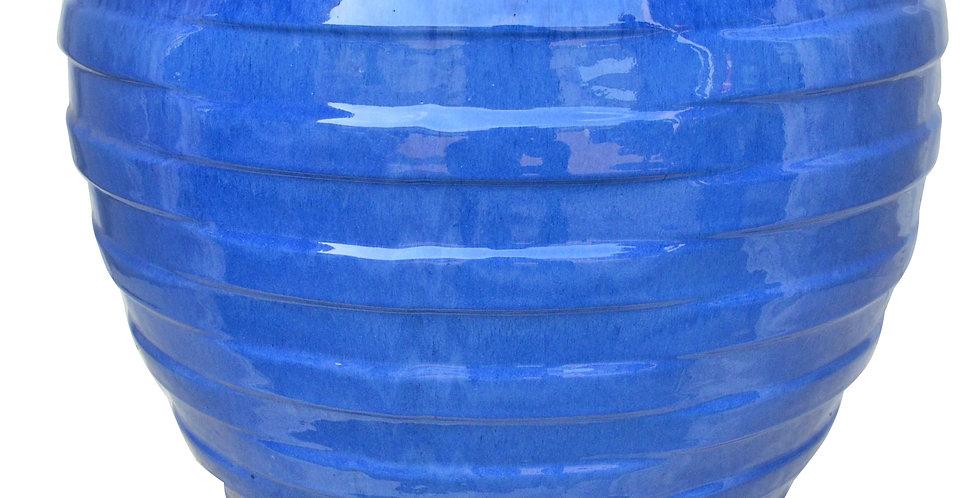 Techno Light Blue Flat Rim Round