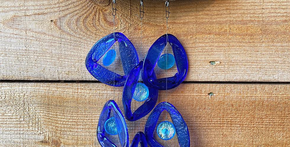 Pure Blue 3-Strand Chime