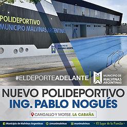 Banner Polideportivo Ing Pablo Nogues 35