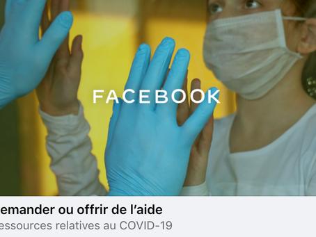 Facebook lance Community Help en Belgique, un outil d'entraide