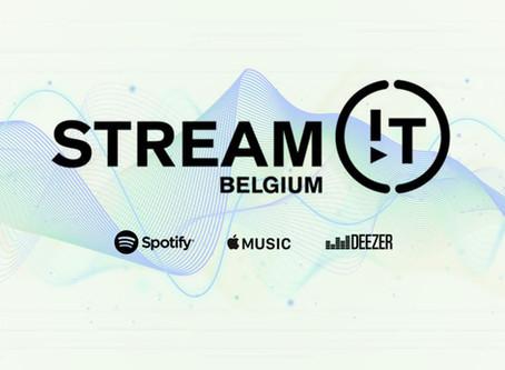 Soutenez des artistes belges en écoutant leurs playlists : Stream!t Belgium