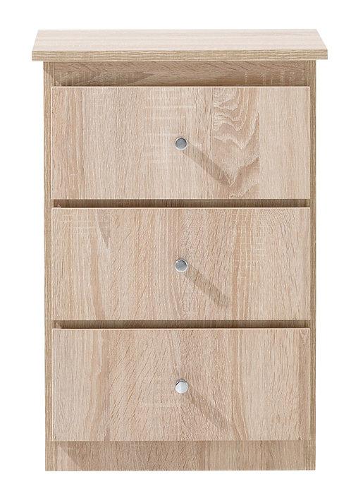 3 drawer Bedside