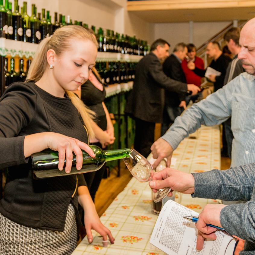Místní výstava vín na Čejči 2015