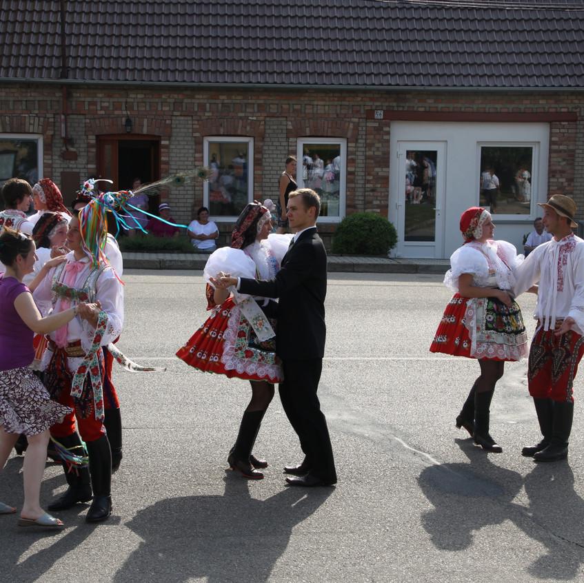 Krojované hody Terezín 2012