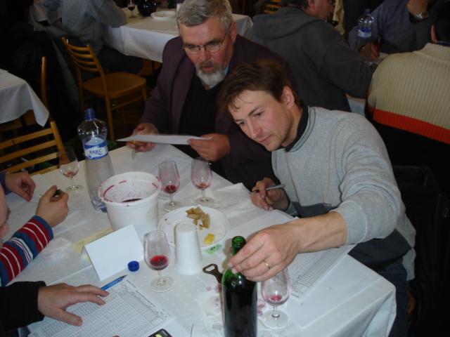 Hodnocení vín na výstavu