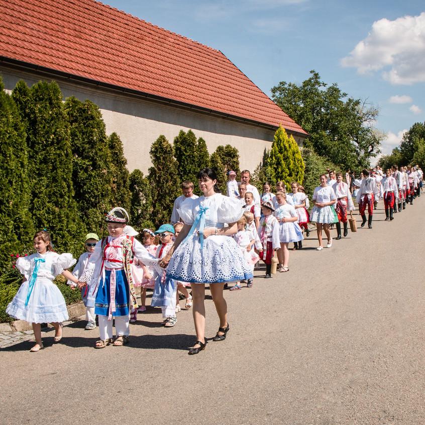 Krojované hody Terezín 2014