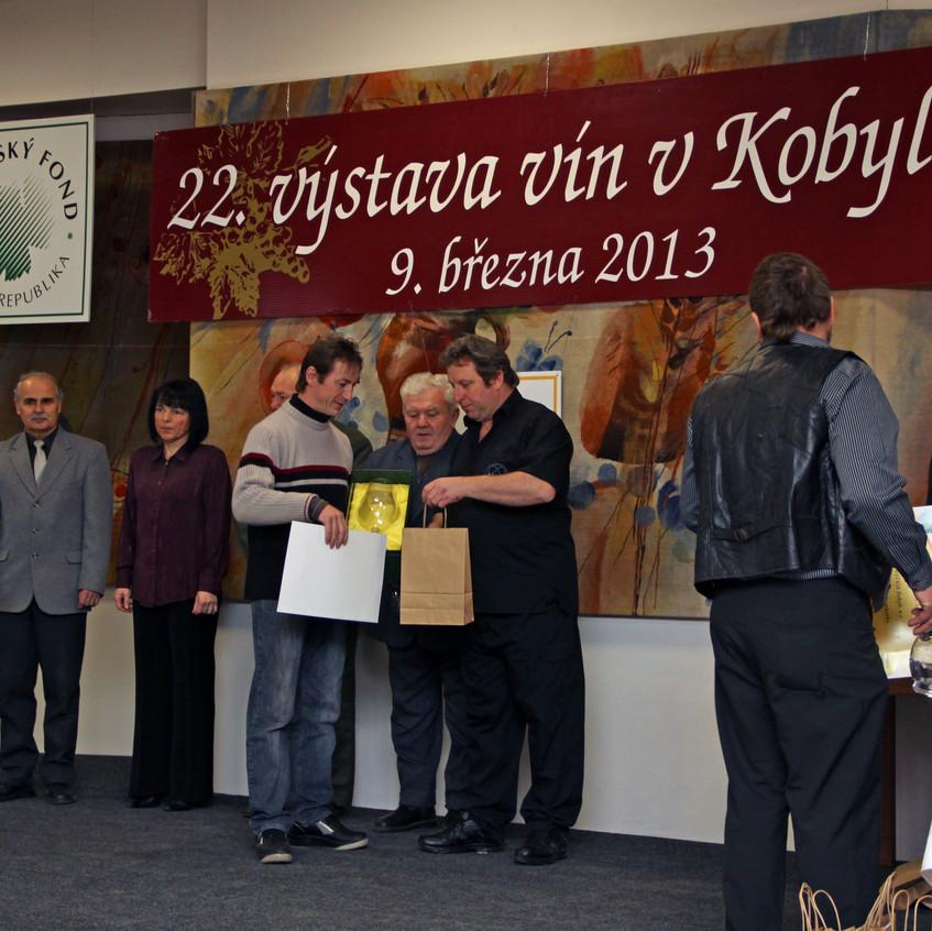 Výstava vín v Kobylí 2013