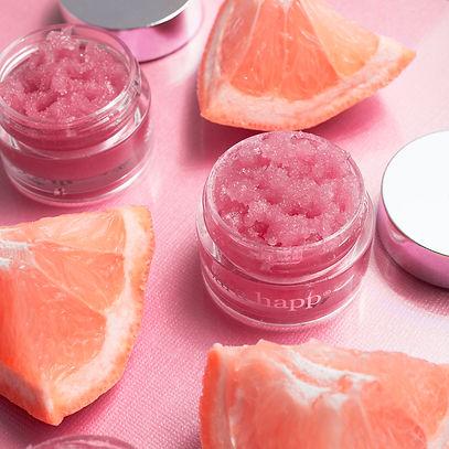 sara happ_pink grapefruit lip scrub for