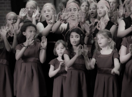 The South Cape Children's Choir op bezoek