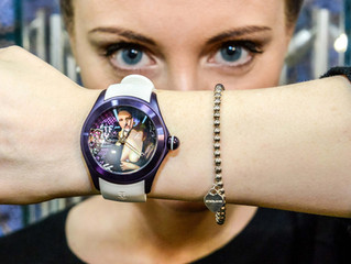 ELISABETTA FANTONE FOR CORUM BUBBLE WATCH