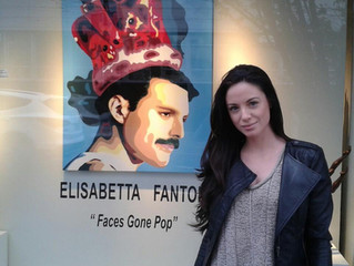 Elisabetta Fantone at the Kurbatoff Gallery in Vancouver
