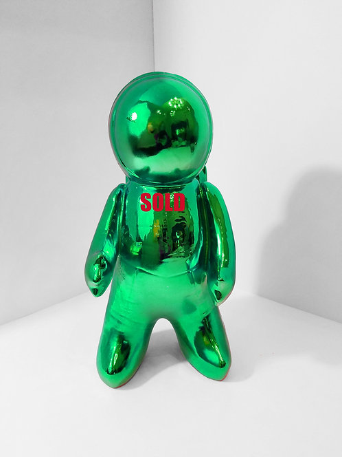 Space Man Green