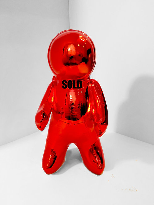 Space Man Red